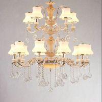 武夷山灯具厂家 青龙中式灯 法式铜灯 酒店欧式吊灯