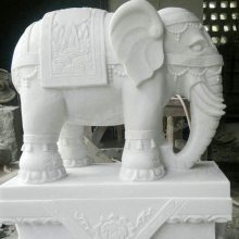 供应批发石雕大象 花岗岩大象 动物石象 门口石头象