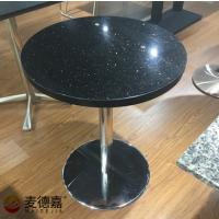 供应南宁麦当劳定做餐厅桌椅子现代中式亚克力封边桌子