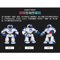 智能对战阿尔博特机器人 跳舞唱歌炫舞机甲战警 儿童早教玩具模型