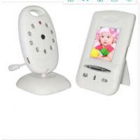 数字宝宝监视器 2.4G无线婴儿监护器 支持对讲温度显示音乐播放 数字婴儿看护器