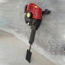 汽油冲击式断根机 小树苗移栽机 圣鲁铲式挖树机