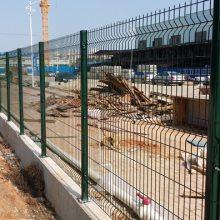 深圳小区带枪头隔离栅 动物园焊接栅栏 清远市政烧焊隔离网厂家直销
