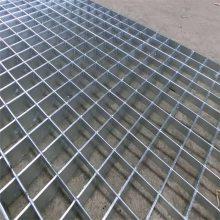 网格板安装 镀锌钢制网格板 集水沟盖板