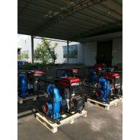鸡西市6寸铸铁柴油机排污泵混流泵