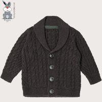 儿童针织外套全年材质环保A类标准纯色元素秋冬季新款 婴幼儿针织毛衣厂家