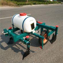 宽度可调人力喷药覆膜机 厂家直销播种施肥喷药覆膜机 乐丰牌