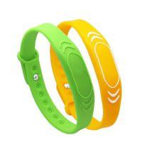 NFC腕带 IC手环 RFID手环 RFID硅胶防水手环 rfid硅胶腕带