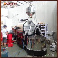 南阳东亿厂家直营大型咖啡豆烘焙机 120公斤咖啡豆烘焙设备 咖啡工厂烘焙自动化设备