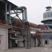 安徽滁州新承建的环保回转窑可不可以烧石灰