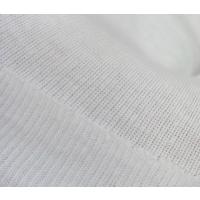 针织面料40S100%棉罗纹布1x1