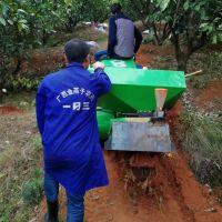 富兴牌新型桃树履带式旋耕机 柴油自走式开沟机 履带式回填施肥机视频