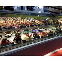 徽点烘焙小西点冷藏柜,曲靖蛋糕柜供应厂家,1.8米第五代圆弧蛋糕柜