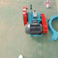 山东森泰卡箍式切桩机 手推式地面切桩机 600型桩头切割机