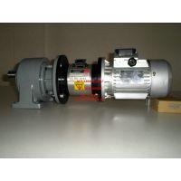 减速电机安装刹车器. 伺服电机失电刹车器安装机械电机离合刹车组合系统