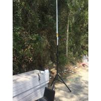 1.4G专网无线网桥海边10公里带宽和信号强度测试