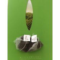 袋泡茶尼龙三角包装材料吊牌