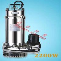 衡阳不锈钢潜水泵 VN250不锈钢潜水泵放心省心