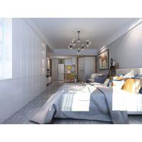 山水公司设计43㎡单身公寓, 以简约大气的整体设计创造出现代时尚的生活空间
