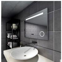 莱博顿铝材浴室镜LED灯卫生间挂墙式灯镜电加热防雾膜防水