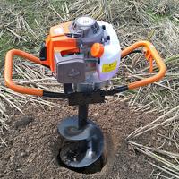 苗木园林挖坑机 立柱打坑机 乐丰牌