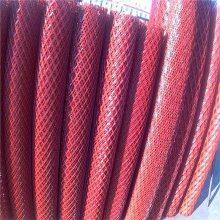 钢板拉伸网 金属网 菱型铁板网