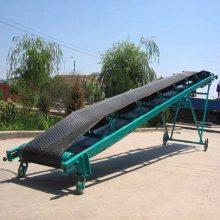 [都用]福州市沙子输送机 工地石子皮带机 20米长水平式输送机