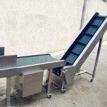 平行式装卸皮带输送机 袋装沙子皮带输送机-都用厂家直销