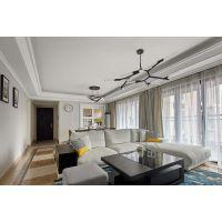 明居装饰翡翠·城案例简欧·装修风格三室一厅100平米