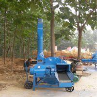 广东牛羊青饲料铡草粉碎机 富兴养殖机械铡草揉丝机 杂粮粉碎机型号价格