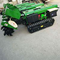 自走式大棚旋耕除草机价格 新款汽油一机多用沟施肥回填 佳鑫果树开沟施肥机