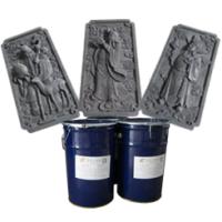 河北仿古砖雕浮雕模具硅胶东莞易佳三耐酸碱水泥制品液体硅橡胶耐烧耐高温