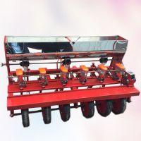 多功能苜蓿谷子胡萝卜精播机拖拉机带的谷子播种机 启航新型蔬菜胡萝卜单粒播种机