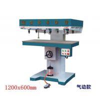 MZ5408气压立式多轴木工钻床 水平钻孔机木工排钻