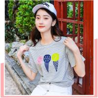 纯棉T恤杭州厂家批发市场新款式的欧美短袖大件版型北方人山东省济南服装批发市场在哪里地摊货源的服装