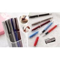 插套水笔 铝杆氧化无拉丝 插套触控水笔 展会促销礼品笔定制 瑞丰达礼品公司