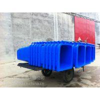 山东加厚环卫塑料垃圾桶销售,与垃圾车配套使用二轮带盖塑料垃圾桶