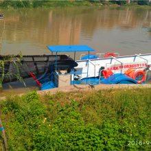 水面保洁船型号 科大破碎水草设备价格