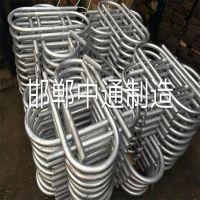 邯郸永年厂家直营预埋件 M33*1416U型螺栓 多元合金共渗 国标