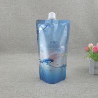 护肤类吸嘴袋生产厂家定制 350G洗面奶铝箔自立袋 爽肤水 身体乳液包装袋