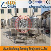 尊皇ZH-500L精酿啤酒酿造系统