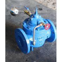 厂家批发100X遥控浮球阀 液压水位控制阀 水箱进水阀 自来水浮球阀