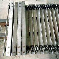 宽500槽钢链板式不锈钢网带乾德供应商