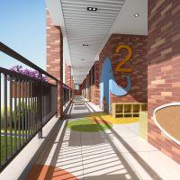 幼儿园专业设计方案哪家更高端常州幼儿园室内设计,蓝色木棉