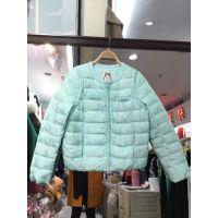 2018冬季保暖女式羽绒服韩版中长短款羽绒服批发 时尚女装羽绒服甩卖处理