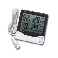 供应TH03B电子数显室内外温度湿度计大屏幕LCD显示温湿度表