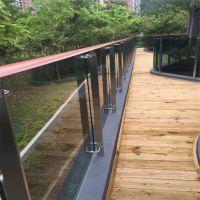 金裕 室内阳台防护栏杆厂家可来图定制 304不锈钢玻璃平台栏杆