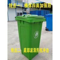 山西太原军绿色塑料垃圾桶厂家直销