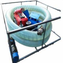 皮带轮带动的吸粮机 高进低出的中转口抽粮泵 吸粮机的内部结构 润众