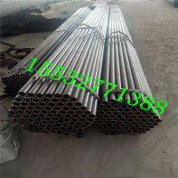 钢花管Q235钢花管注浆管底部用钢板焊接密封
